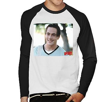 American Pie Oz Smiling Men's Baseball Long Sleeved T-Shirt