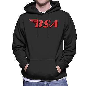 BSA Red Logo Men's Hooded Sweatshirt