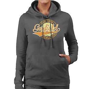 Garfield Athletics Logo Estabelecido 1978 Women 's Camisola Encapuzada