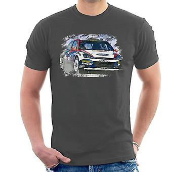 Motorsport Images WRC 2002 Ford Focus Men's T-Shirt
