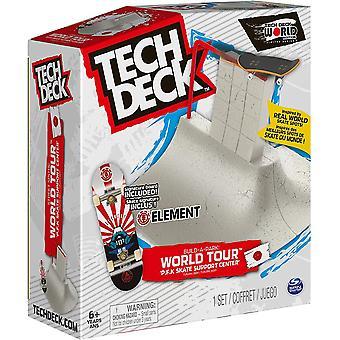Tech Deck Zbuduj park World Tour  Centrum wsparcia P.F.K Skate