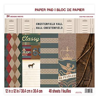 Craft Smith Chesterfield Hall 12x12 Inch Paper Pad