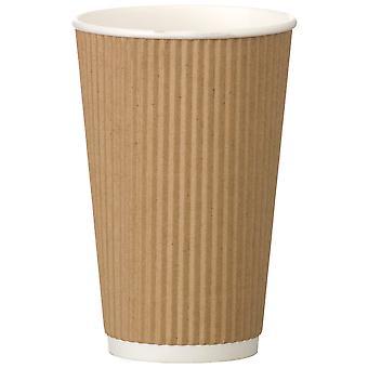 Kraft Ripple Cup 16oz