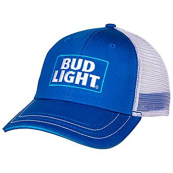 Bud Light Logo ajustable Snapback malla Trucker sombrero