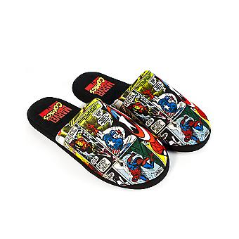 Marvel Avengers Slippers Comic Men's Polyester House Scarpe