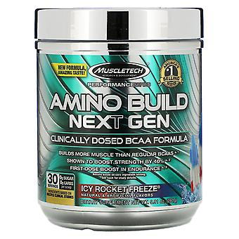 Muscletech, Amino Build Next Gen, Icy Rocket Freeze, 9.73 oz (276 g)