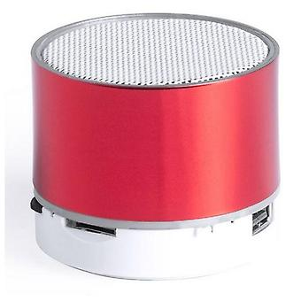 Bluetooth loudspeaker with LED light Red