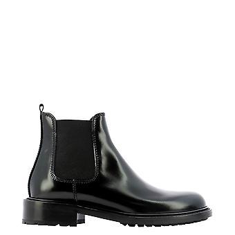 Guglielmo Rotta 5816ttudorblack Women's Black Leather Ankle Boots