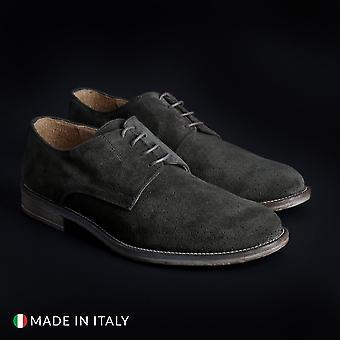 Sb 3012 men's laced shoes- 06 camosciobucato