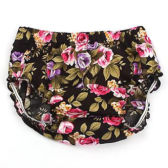 Infant Baby Summer Floral Cotton Bloomers Little Girl Pp Shorts Newborn Beach Panties