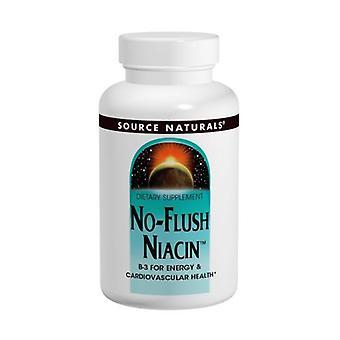 مصدر الطبيعية لا فلاش النياسين، 500 ملغ، 60 علامات التبويب