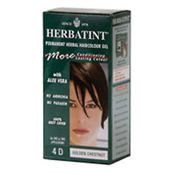 Herbatint Hair Color-Golden Chestnut 4d, (4D) 4.56 Oz