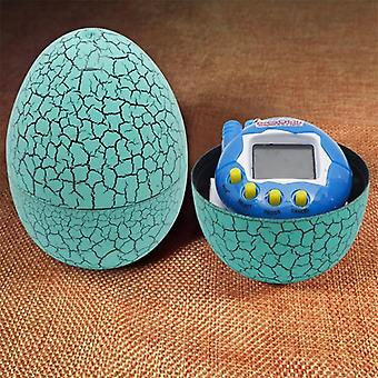 Multi-color Tumbler Dinosaur Egg With Battery-operated Mini Key Chains