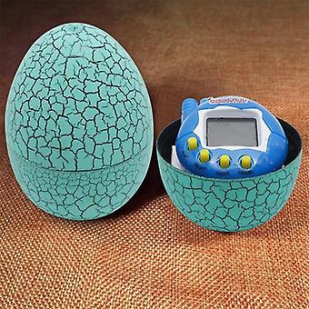 Uovo di dinosauro Tumbler multi-colore con mini catene di chiavi a batteria