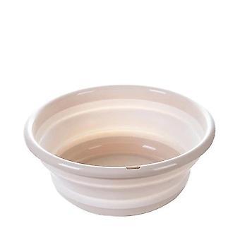 Bassin pliant en silicium en plastique - Outil de nettoyage ménager de l'organisateur de cuisine