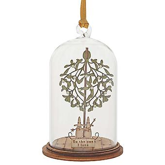 Kloche by Millbrook Gifts To The One I Love At Christmas Hanging Ornament