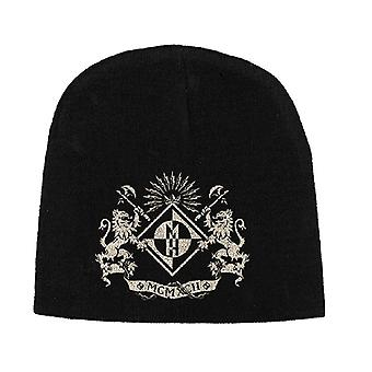Machine Head Beanie Hat Cap band logo Crest new Official black jersey print