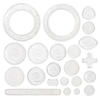 Spirograph Drawing Set, Interlocking Gears Wheels Painting Drawing Accessories
