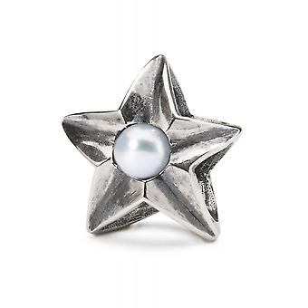 Trollbeads Sterling Silver Cancer Star Bead TAGBE-00264