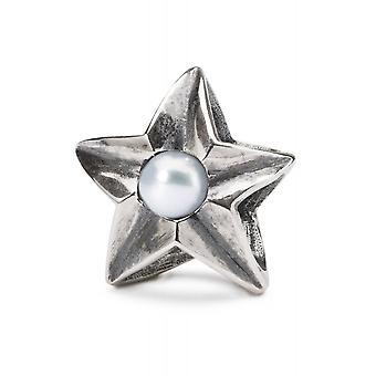 Trollbeads Sterling Silver Cancer Star Bead TAGBE-00264