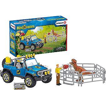 Schleich Off Road Vehicle mit Dino Außenposten