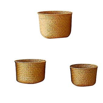 Nordic Style Hand Woven Storage Basket