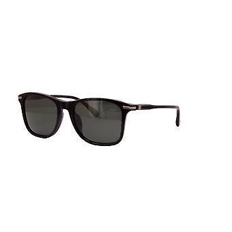 Dunhill SDH131 700P Shiny Black/Polarised Smoke Gradient Sunglasses