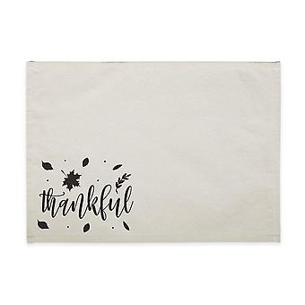 Thankful-cotton Canvas Place Mat