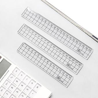 Transparent Simple Square Ruler-drawing Fournitures