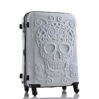 Skull Luggage Famous Brand Travel Suitcase/original 3d Trunk Travel Luggage,