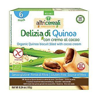 Quinoa ilahduttaa kaakaokermalla 6 yksikköä