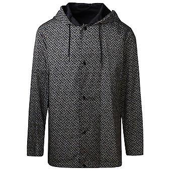 Burberry 8029657a8541 Men's Black Nylon Outerwear Jacket