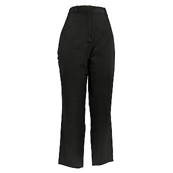BROOKE SHIELDS Women's Pants Timeless Regular Woven Ankle Black A342011