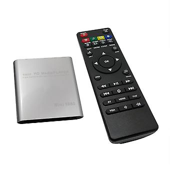 Hdd Media Box, Video Multimedia Player Full Hd With Sd Mmc Card Reader