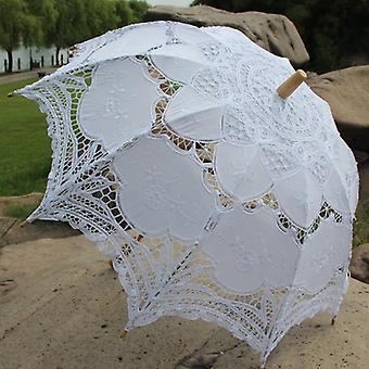 Party Dekoration Spitze Regenschirm, Hochzeit Sonnenschirm