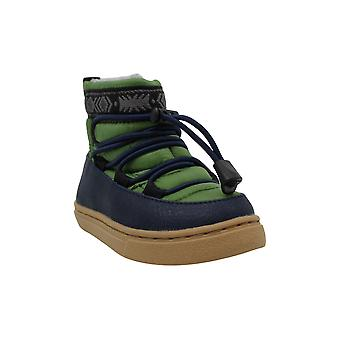 TOMS Girls Alpine Ankle Bungee Snow Boots