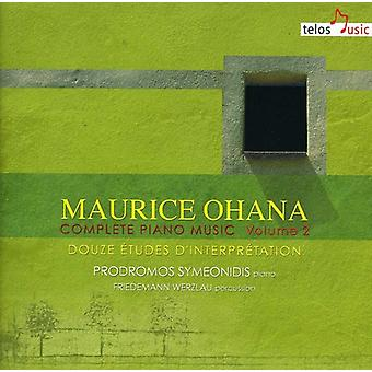 Maurice Ohana - Maurice Ohana: Complete Piano Music, Vol. 2 [CD] USA import