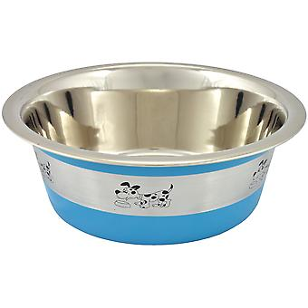 Nayeco Oslo Stainless Steel Feeder Blue (Dogs , Bowls, Feeders & Water Dispensers)