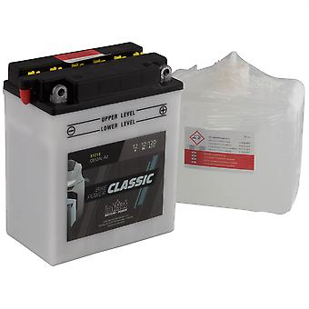 intAct CB12AL-A2 Classic Bike-Power Battery With Acid Pack
