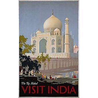 زيارة الهند طباعة ملصق محل تاج بوليام سبنسر باجداتوبولوس