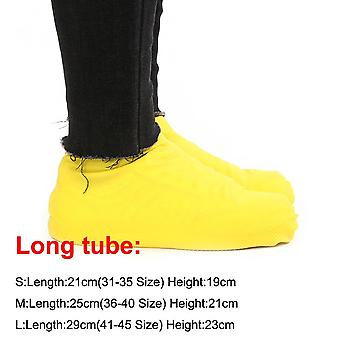 1 Pair Rubber Reusable Latex Waterproof Rain Shoes Cover
