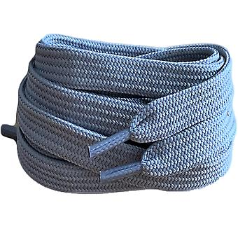 Grey Flat Trainer Shoelaces Laces