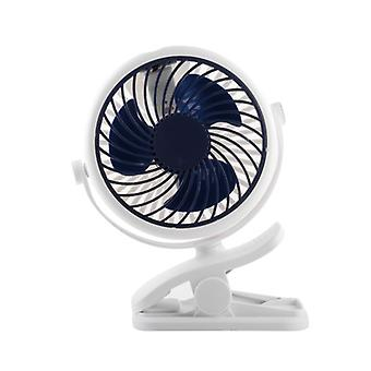 New Small Fan Mini Hanging Clip Mute Rechargeable Usb Big Wind Fan