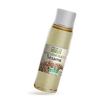 Organic sesame vegetable oil 50 ml of oil