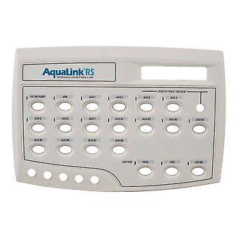 Jandy 7436 AquaLink RS Front Face Plate Assembly