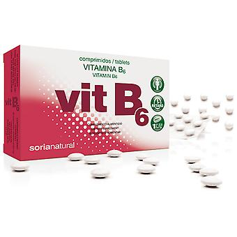 Soria Natural Vit, B6 Retard 48 Tablets