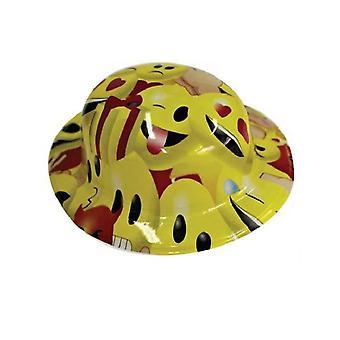 Imoji volwassen bowler party hoed