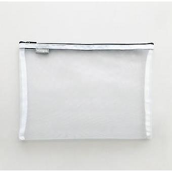 tykk nylon mesh glidelås oppbevaringsveske