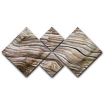 Lienzo de madera a la deriva