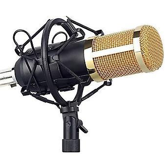 Микрофон Комплект Компьютерный конденсатор микрофон с Arm Sound Card Поп-фильтр Windbreak